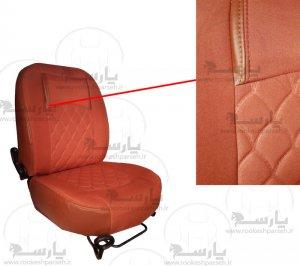 روکش صندلی پارچه ای 206 مارون